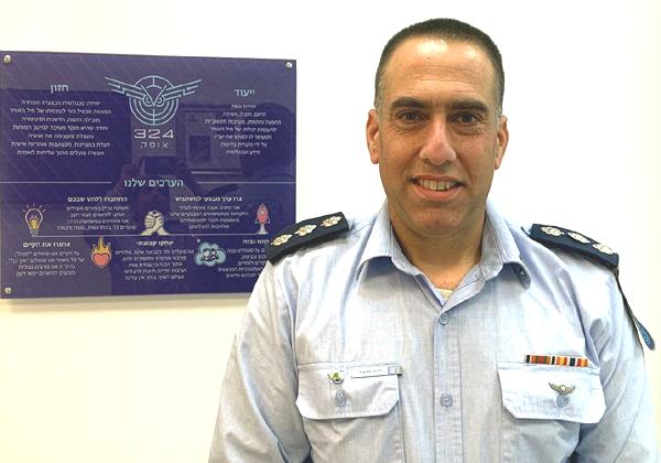 """אל""""מ דרור זליכה, מפקד יחידת אופק שבחיל האוויר. צילום: דובר צה""""ל"""