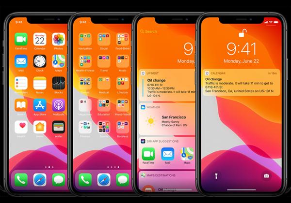 iOS 14 - בעיצוב חדש. צילום מסך: נחמה אלמוג