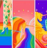 גוגל חוגגת גאווה: השיקה טפטים מיוחדים לאנדרואיד