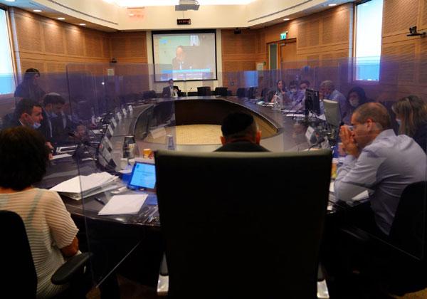 הדיון בוועדת הכלכלה, היום (ג'). צילום: דוברות הכנסת