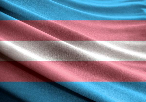 הדגל הטרנסג'נדרי. מקור: BigStock