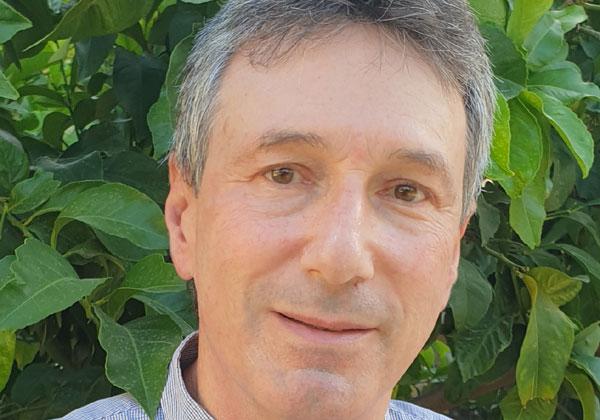 דני דוברין, ממונה אבטחת מידע במרכז הרפואי שערי צדק. צילום עצמי