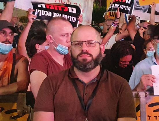 """ניר הירשמן, התנועה לזכויות דיגיטליות. צילום: יח""""צ"""
