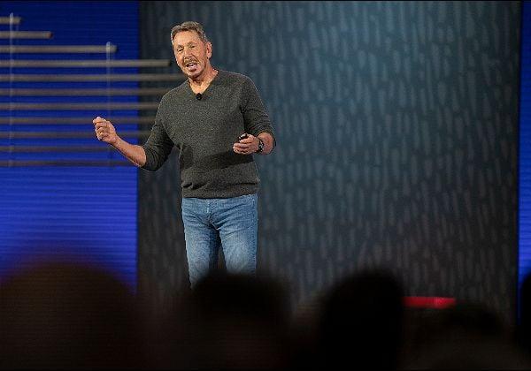 """לארי אליסון, מייסד אורקל (Oracle) וסמנכ''ל הטכנולוגיות שלה. צילום: יח""""צ"""