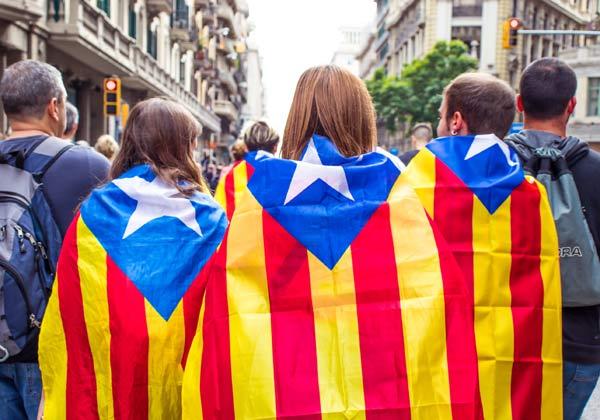 הפגנה בברצלונה למען עצמאות קטלוניה. צילום ארכיון: BigStock