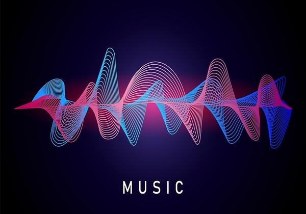 ישירות למוח. גלי מוזיקה. איור אילוסטרציה: BigStock