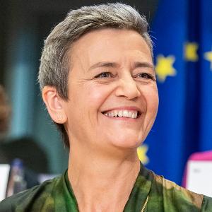 מרגרט וסטגר, הממונה על ההגבלים העסקיים באירופה. צילום: וויקיפדיה