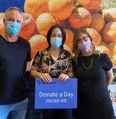 יוזמה של עובדי סינמדיה בישראל: ימי חופשה שהומרו לתרומה לארגוני סיוע