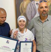 גדולה מהחיים: אות הוקרה לנטלי גבאי על תרומה לילדים חולי סרטן