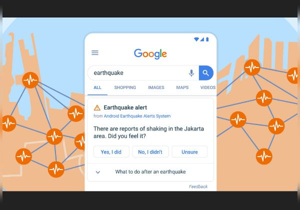 התרעות בטרם רעידת אדמה ישירות לניידים. איור אילוסטרציה: גוגל