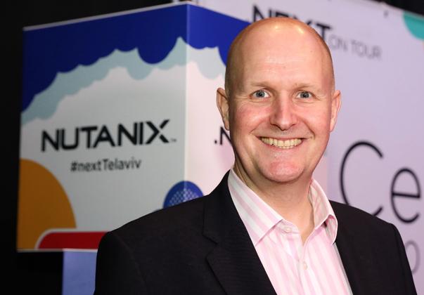 אנדרו ג'יימס ברינדד, סגן נשיא לתפעול מכירות, נוטניקס EMEA. צילום: ניב קנטור