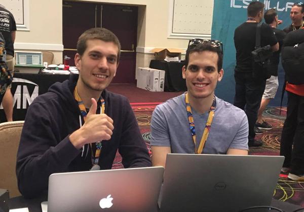 מימין: טל קרן ושרון בריזינוב, חוקרי קלארוטי שהובילו את המחקר. צילום: אמיר פרמינגר