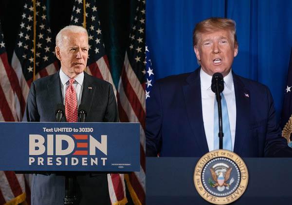 האם יש הטיה פוליטית ברשתות החברתיות ובעד מי? דונלד טראמפ הרפובליקני וג'ו ביידן הדמוקרט. תמונת אילוסטרציה מעובדת, מקור: BigStock
