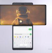 הושק LG Wing – מכשיר כפול מסכים מיוחד ושונה