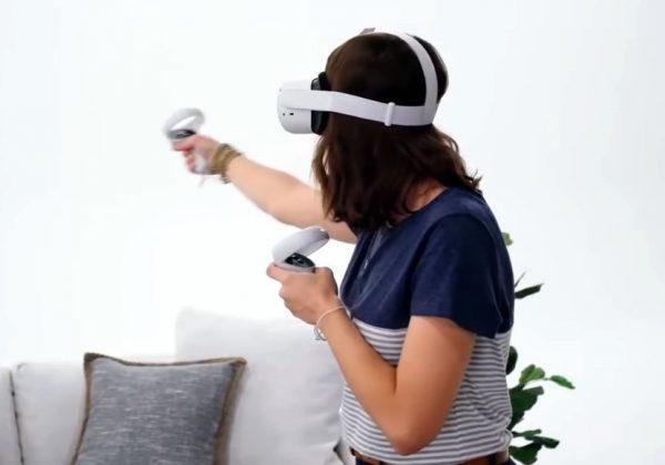 Oculus Quest 2. צילום מסך מתוך סרטון התדמית של פייסבוק