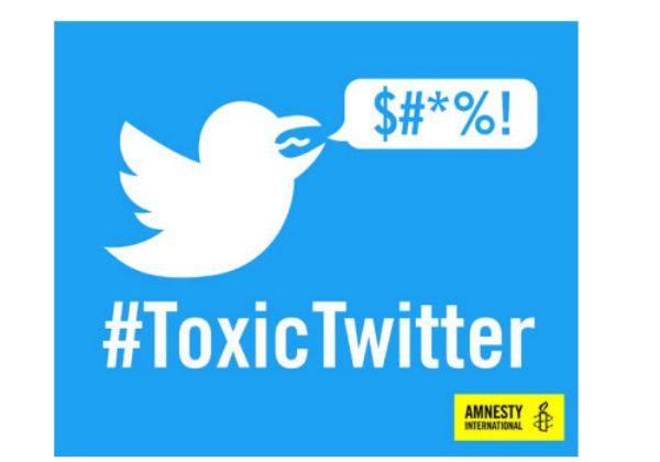 """טוויטר הרעילה, כך קבע דו""""ח של אמנסטי אינטרנשיונל. צילום: מתוך הדו""""ח"""