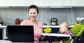 גם אמא וגם עובדת מרחוק. איך מצליחים במשימה? צילום אילוסטרציה: BigStock
