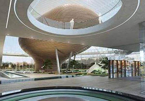 """מוזיאון הסובלנות העתידי בירושלים - מבט מבפנים. צילום: יח""""צ"""