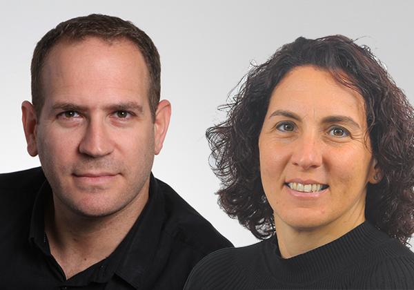 """מימין: דנה זיכלינסקי, מנמ""""רית משגב (צילום: יח""""צ), ומשה הורביץ, סמנכ""""ל פרויקטים ופתרונות משולבים ב-Y-tech (צילום: אסנת קרסננסקי)"""