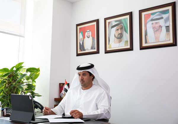 """הילאל סעיד אלמרי, מנכ""""ל מרכז הסחר העולמי של דובאי. צילום: דוברות מכון הייצוא"""