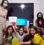 3M וארגון מתן-United Way תרמו מחשבים למשפחות ברחבי הארץ