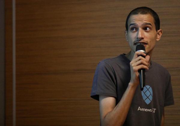 """איסמעיל חרוב, סמנכ״ל טכנולוגיה ושותף-מייסד ב-Avenews-GT. צילום:יח""""צ"""