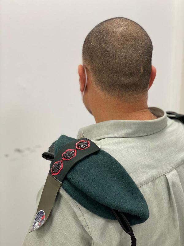 """אל""""מ נ', מפקד המרכז למחקר סייבר אויב באגף התקשוב. צילום: דובר צה""""ל"""