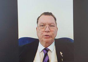 שמואל שי, יו''ר הפורום העסקי ישראל-האמירויות, בכנס אתמול (ג'). צילום מסך: פלי הנמר