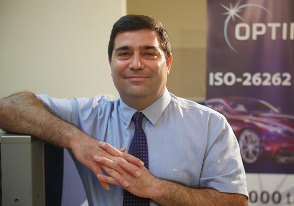 """ג׳מיל מזאוי, מייסד ומנכ״ל אופטימה דיזיין אוטומיישן. צילום: יח""""צ"""