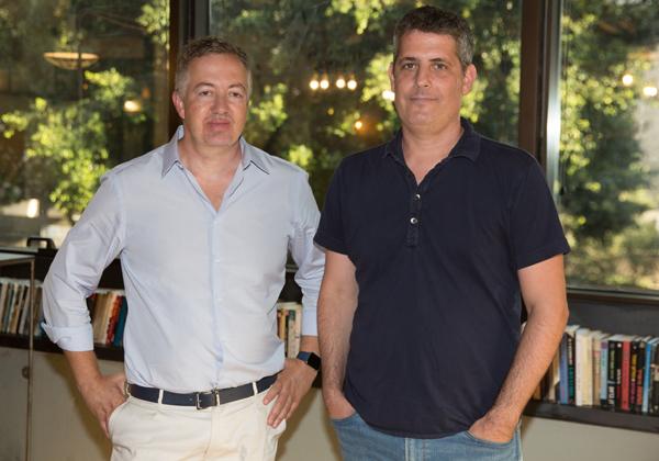 """נמרוד וקס ודמיטרי סירוטה, מייסדי BigID. צילום: יח""""צ"""