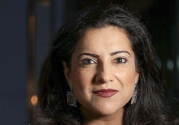 """רשמה סאוג'ני, מייסדת ומנכ""""לית הארגון Girls Who Code. צילום: Fuzheado, מתוך ויקיפדיה"""