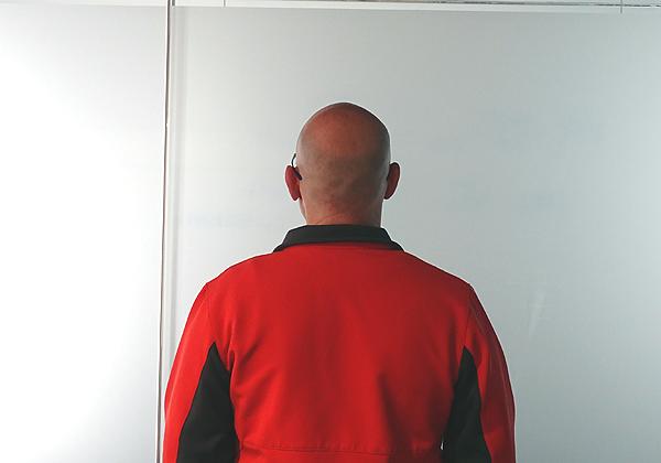 """עמרי, מנהל מרכז המחקר והפיתוח של רפאל בירושלים. צילום: יח""""צ"""