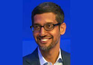"""סונדר פיצ'אי, מנכ""""ל גוגל. צילום: וויקיפדיה"""