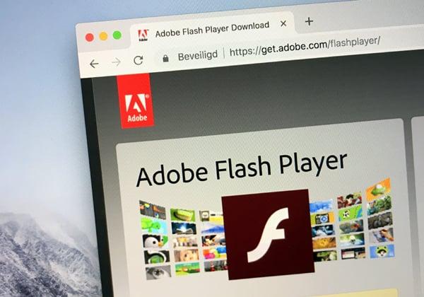 היו שלום. Adobe Flash Player. מקור: BigStock