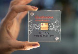 מיותר בעבור גוגל? Snapdragon 888 של קוואלקום. צילום: אתר החברה