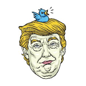 היו לו ציפורים בראש. טראמפ. איור: BigStock