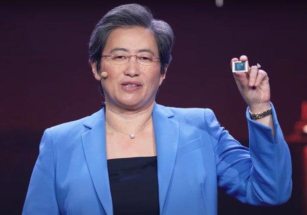 """ד""""ר ליסה סו, מנכ""""לית AMD. צילום מסך: תערוכת CES"""