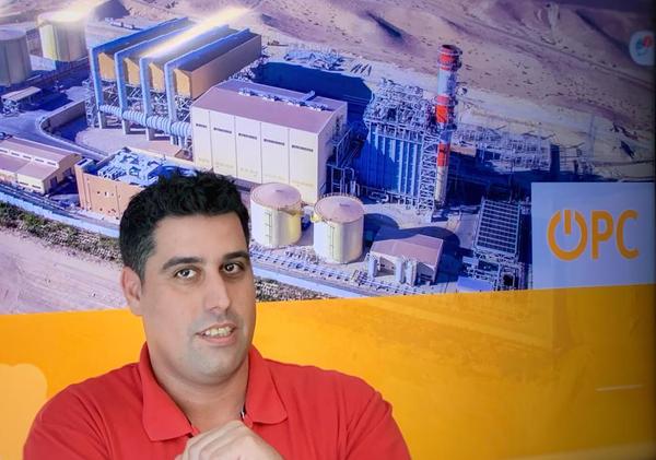 """איתי חוטה, מנהל התשתיות ואבטחת המידע, OPC אנרגיה. צילום: ח""""צ OPC"""