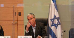 """ח""""כ אלעזר שטרן במהלך הדיון בוועדה. צילום: שמוליק גרוסמן, דוברות הכנסת"""