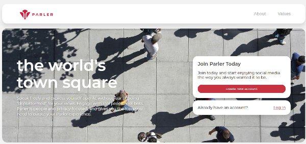 האתר והלוגו החדשים של פארלה. צילום מסך