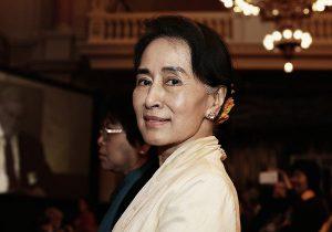 מנהיגת מיאנמר וזוכת פרס נובל לשלום שכעת נמצאת בכלא, אונג סן סו צ'י. צילום: BigStock