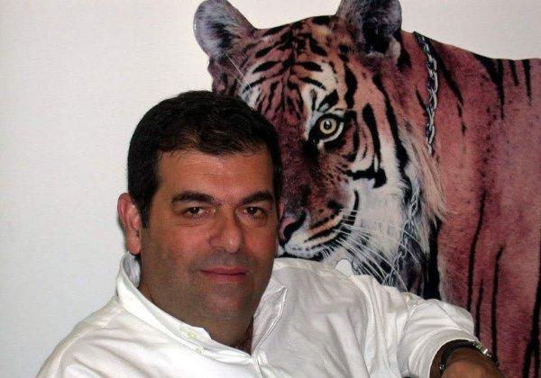 דדי דבורסקי, סגן נשיא בחברת נס ומנהל קבוצת נספרו, במאורת הנמר. צילום: פלי הנמר
