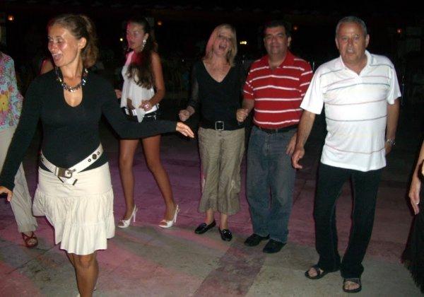 """עם אשתי אורלי ז""""ל בכנס C3 באנטליה. צילום: פלי הנמר"""