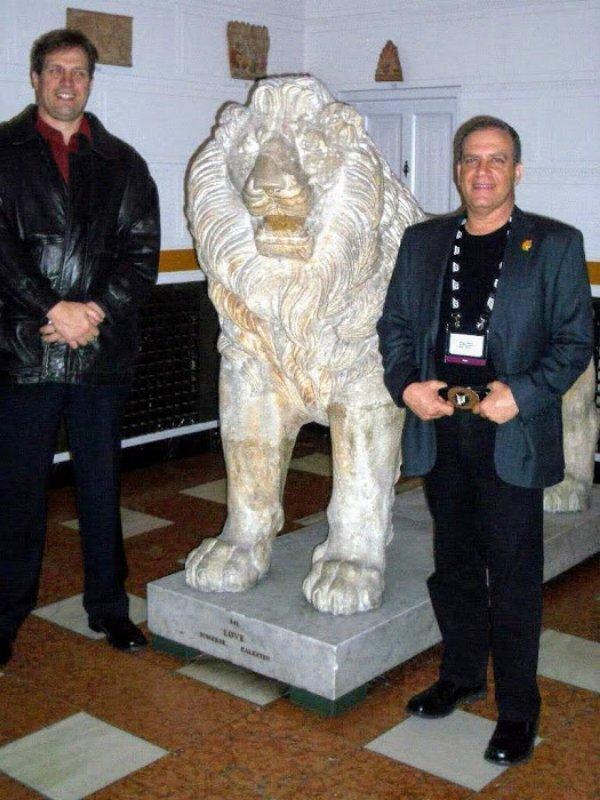 הנמר והאריה