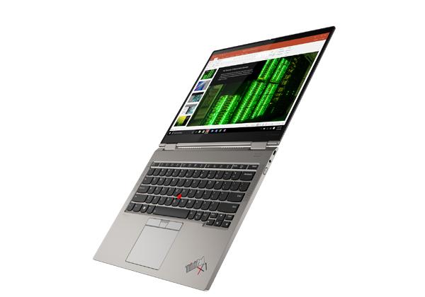 """ה-ThinkPad X1 Titanium Yoga של לנובו. צילום: יח""""צ"""