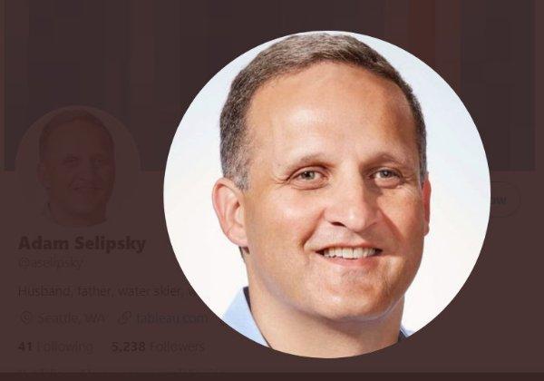 """אדם סליפסקי, למנכ""""ל AWS שייכנס לתפקיד במקום אנדי ג'סי. צילום מסך מדף הטוויטר של סליפסקי"""