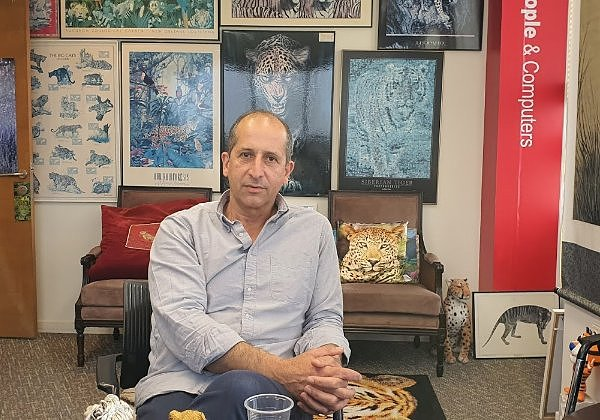 """רונן סרוסי, מנכ""""ל החברה הישראלית ננו סונו. צילום: פלי הנמר"""