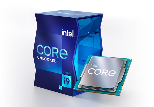 """מעבד ה-Core i9-11900K של אינטל. צילום: יח""""צ"""