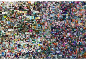 היצירה 'כל-יום: 5,000 הימים הראשונים' של ביפל. נמכרה בכמעט 70 מיליון דולר כ-NFT