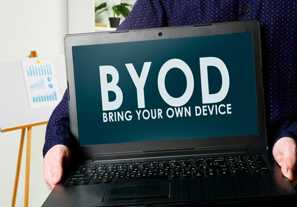 אחד מאתגרי הקורונה בארגונים רבים. BYOD. צילום אילוסטרציה: BigStock